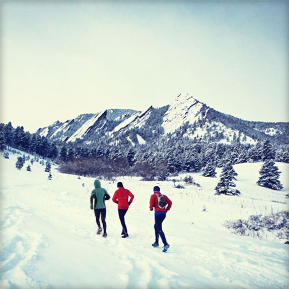 Client meeting at Chautauqua Park in Boulder Colorado