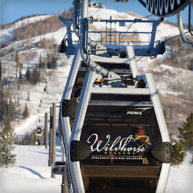 Photo of ski lift at Wildhorse resort